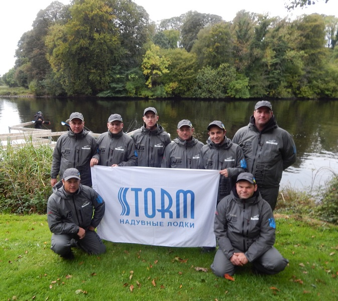 Aqua-Storm Company supports Ukrainian fishermen on World Championship